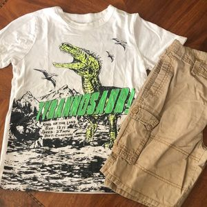 Boy Dino outfit